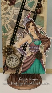 Nikki  Burnette's digi stamp Constance