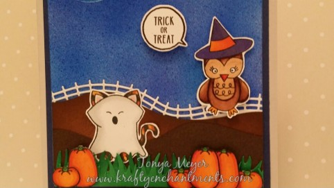 Boo Crew stamp set from Newton's Nook Designs.