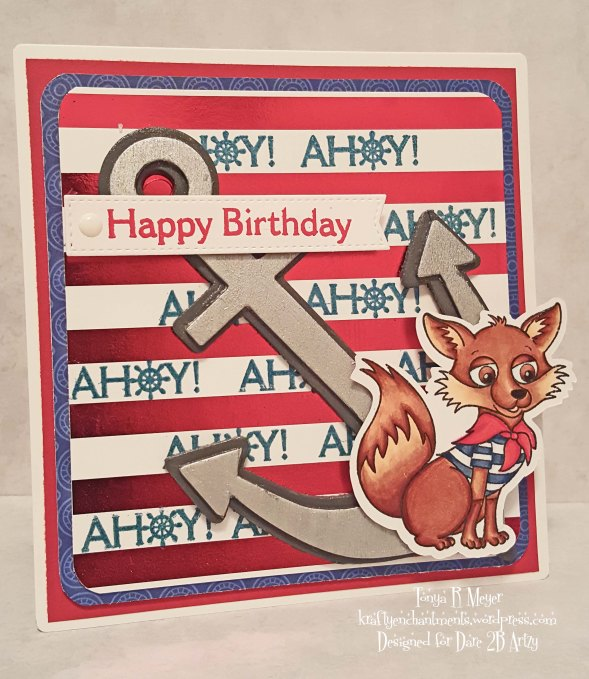 Ahoy Fox card wm