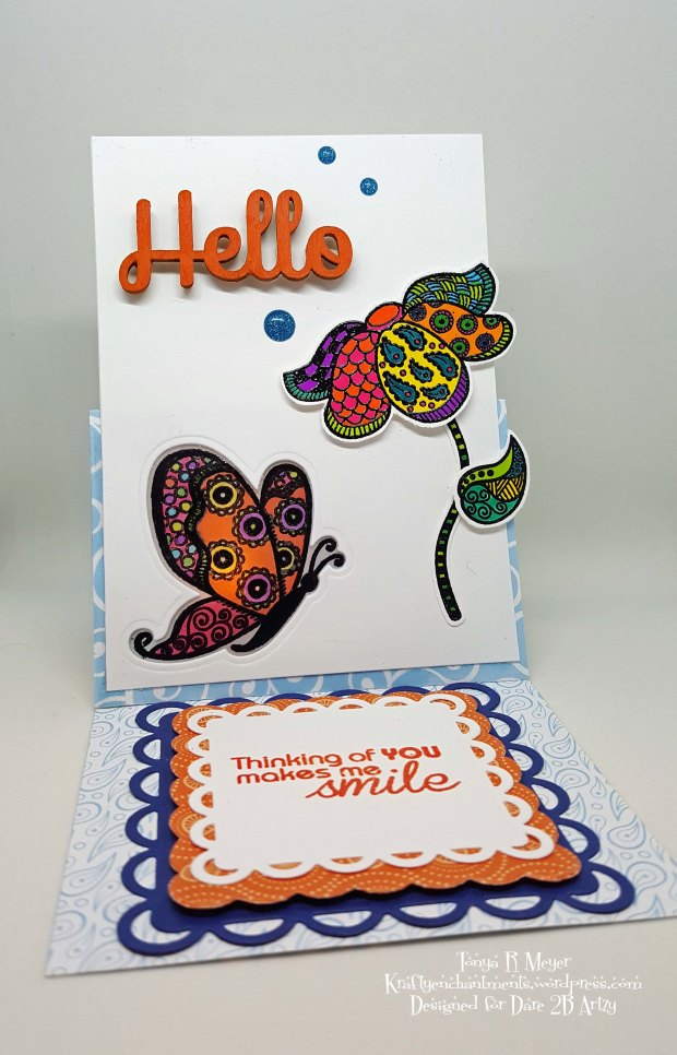 Butterfly tent card 2
