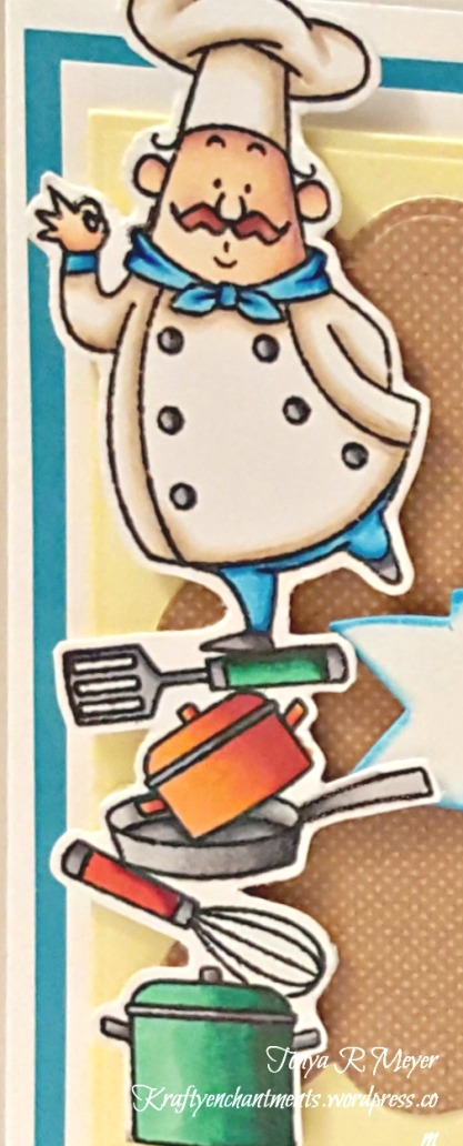 Chef closeup