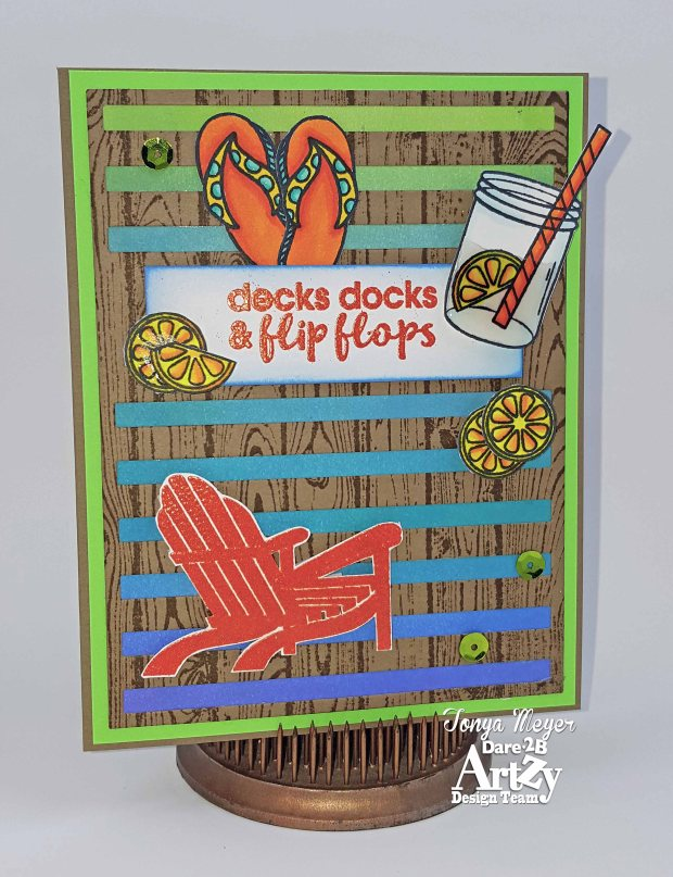 Decks Docks Flipflops card wm