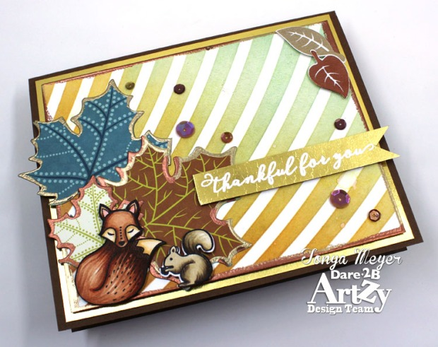 Foxy Fall Thankful 3 wm