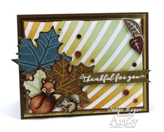 Foxy Fall Thankful wm