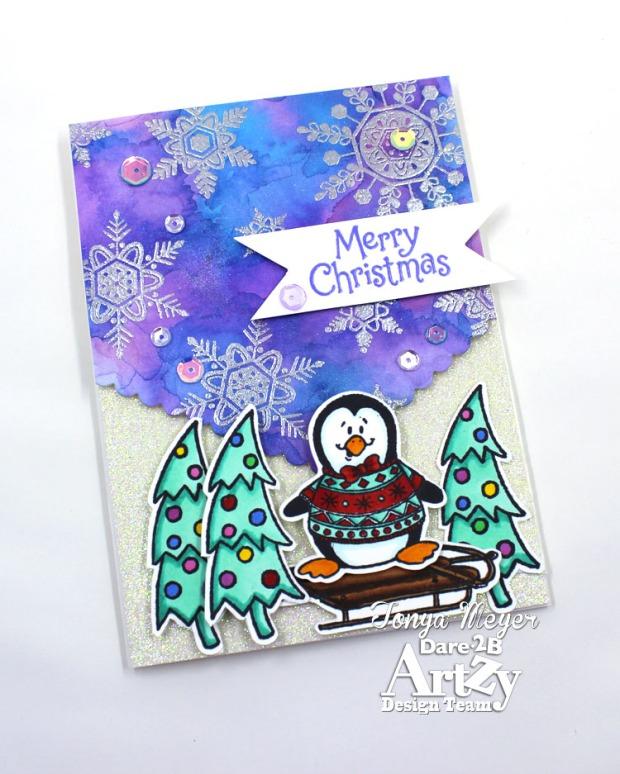 Snowy Penguin 4 wm