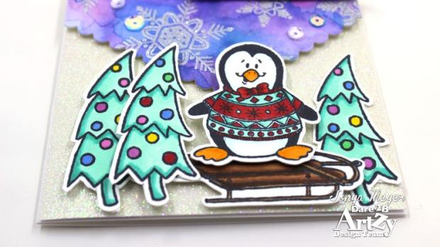 Snowy Penguin 5 wm