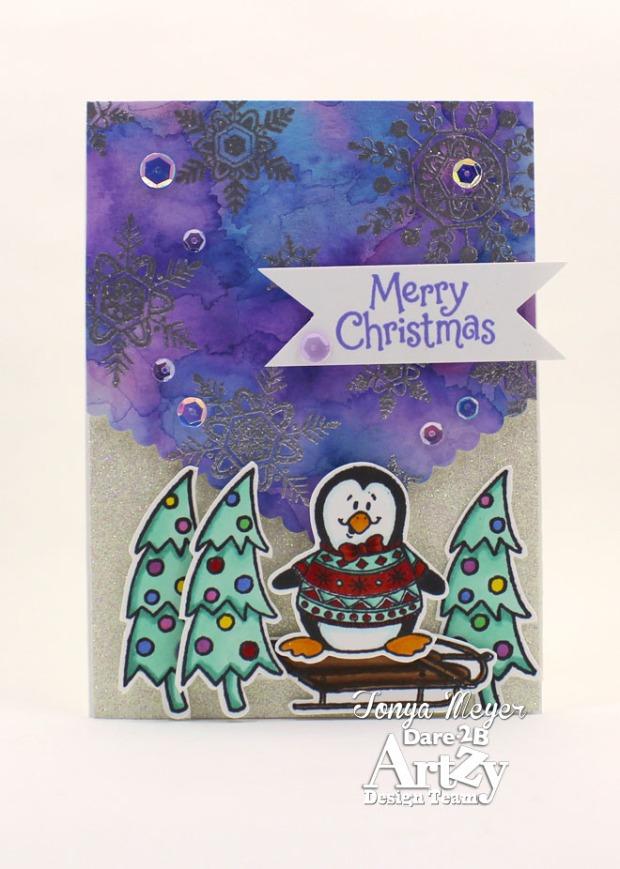 Snowy Penguin wm